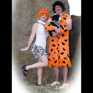 Adult Fred Flintstone Costume Size M
